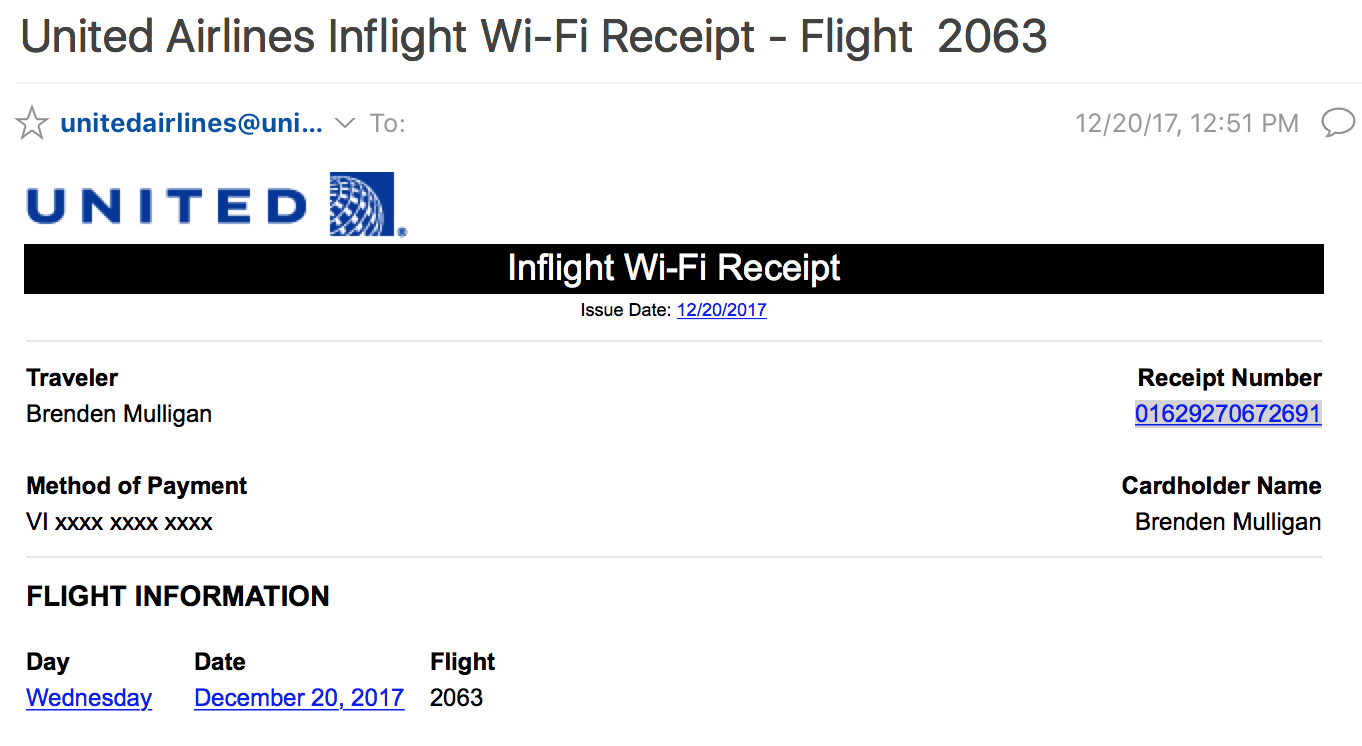 d4c6cbf74d How to request a refund when your United WiFi is unusable
