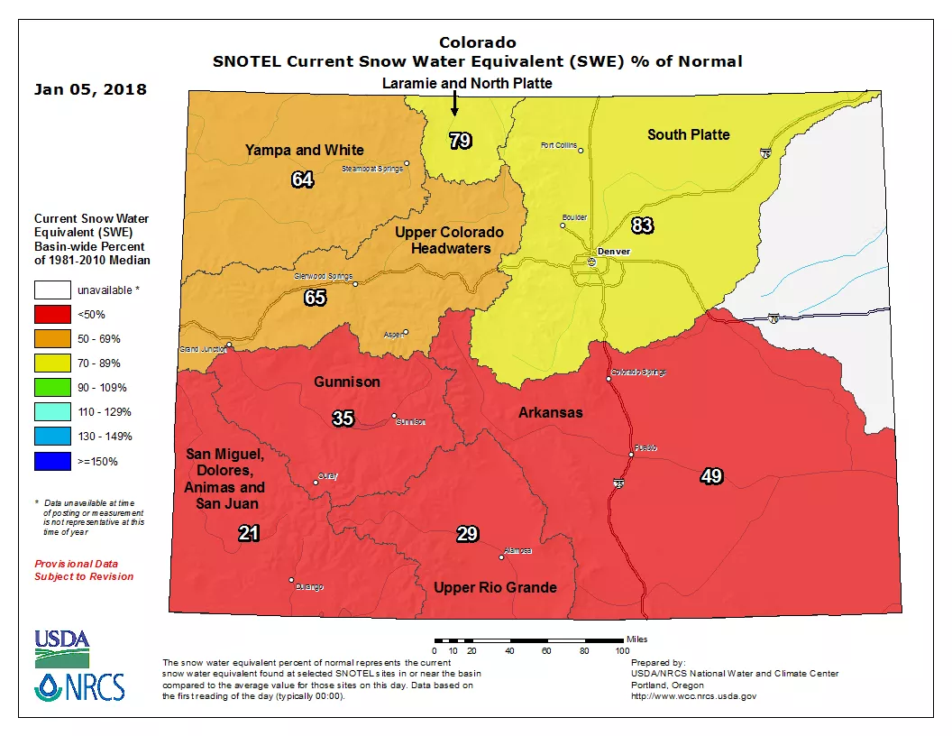 Snotel Montana Map.Montana S Snowpack Best In The West Mountain West News