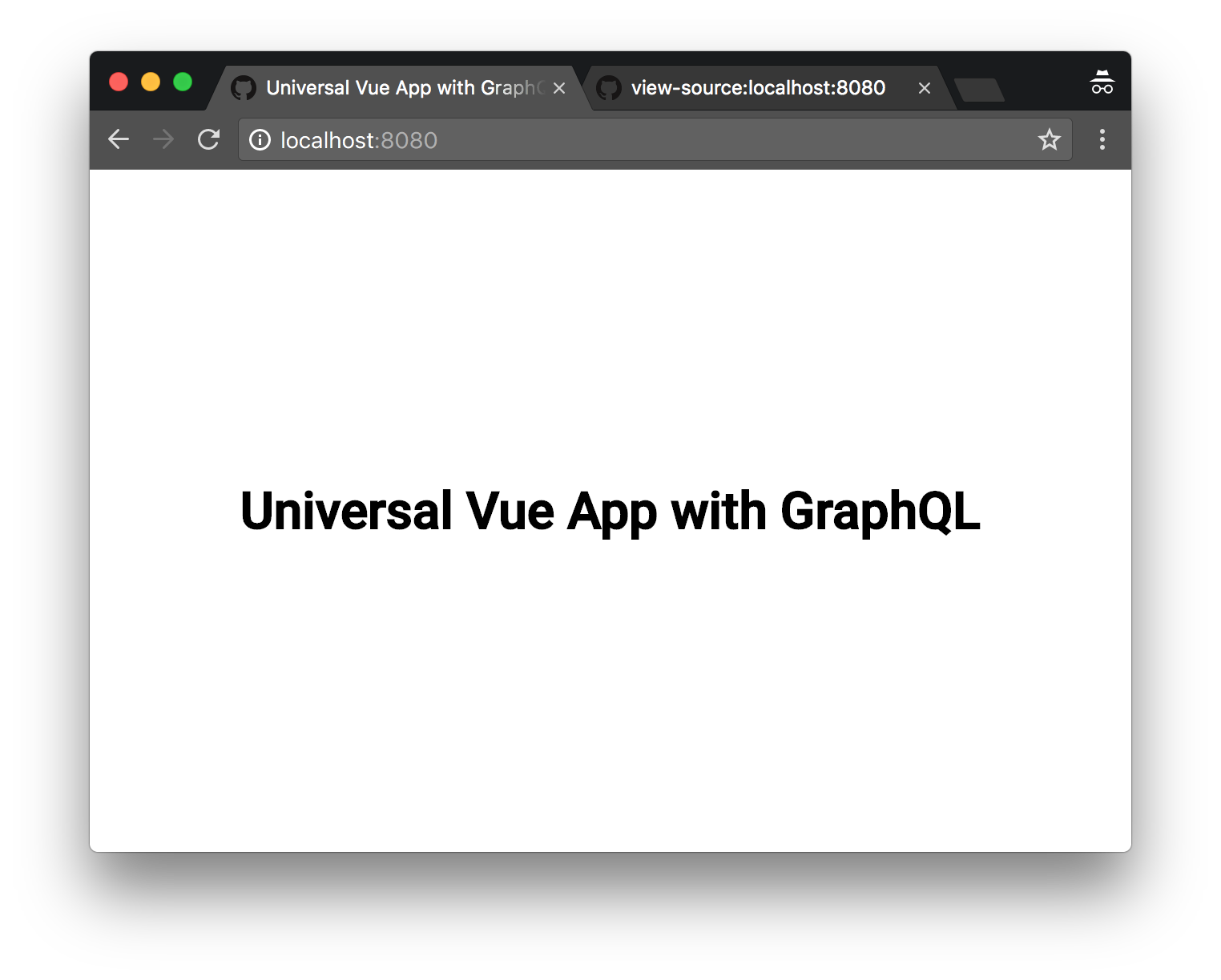 how to create a complex app on server