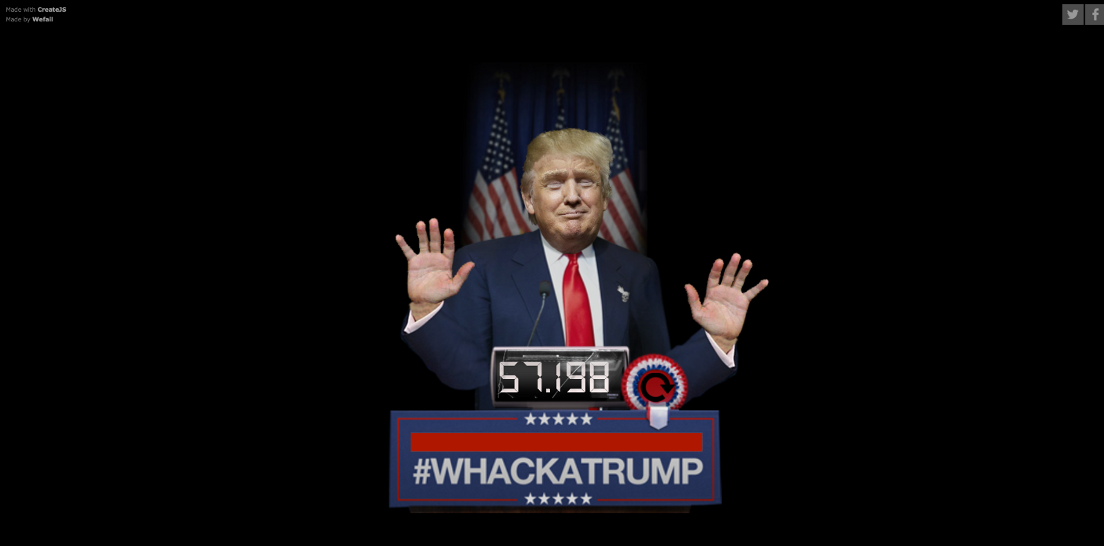 whackatrump interactive project