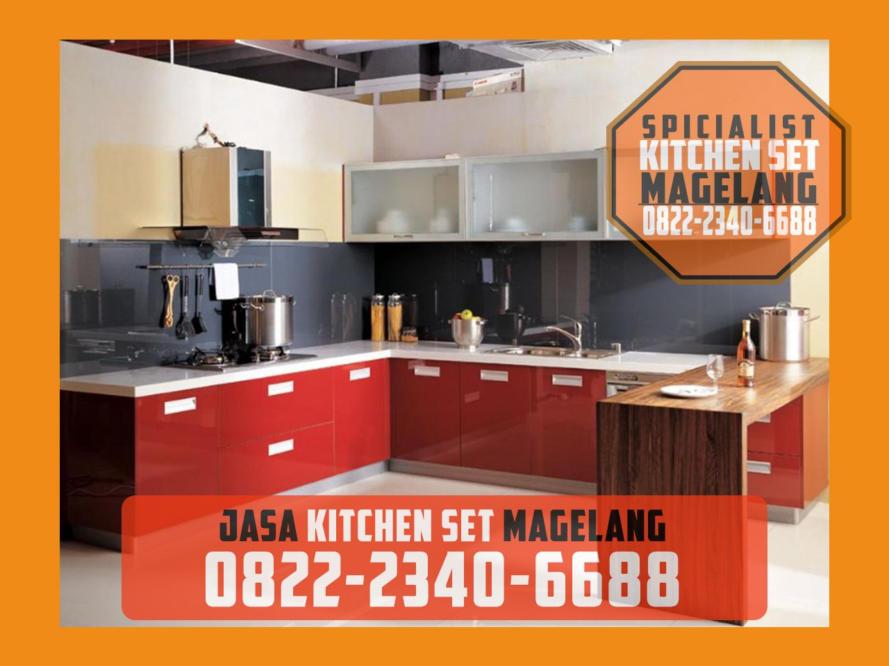 Magelang Aluminum Kitchen Set