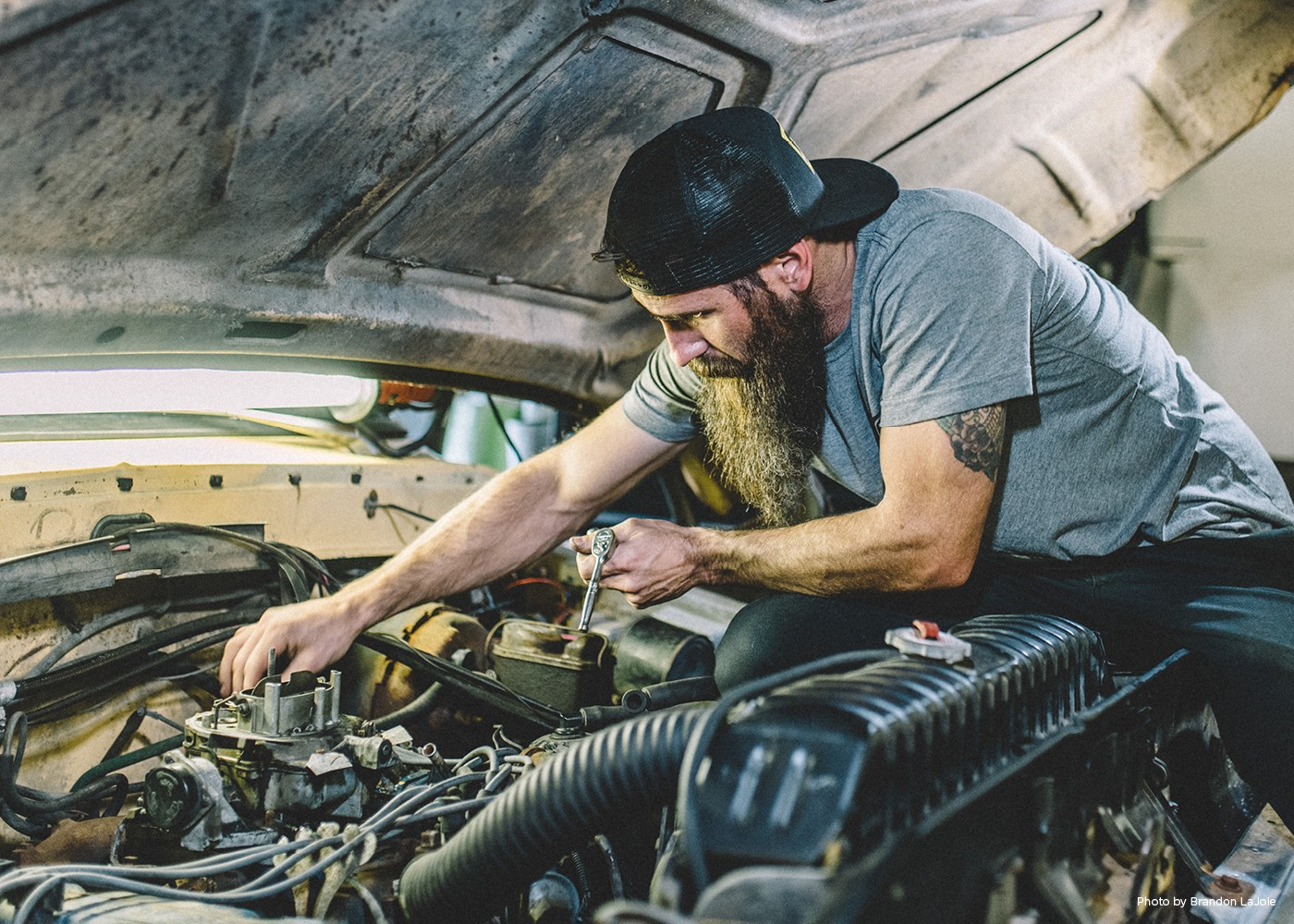 These Days Aaron Kaufman Is Having Lots Of Visions