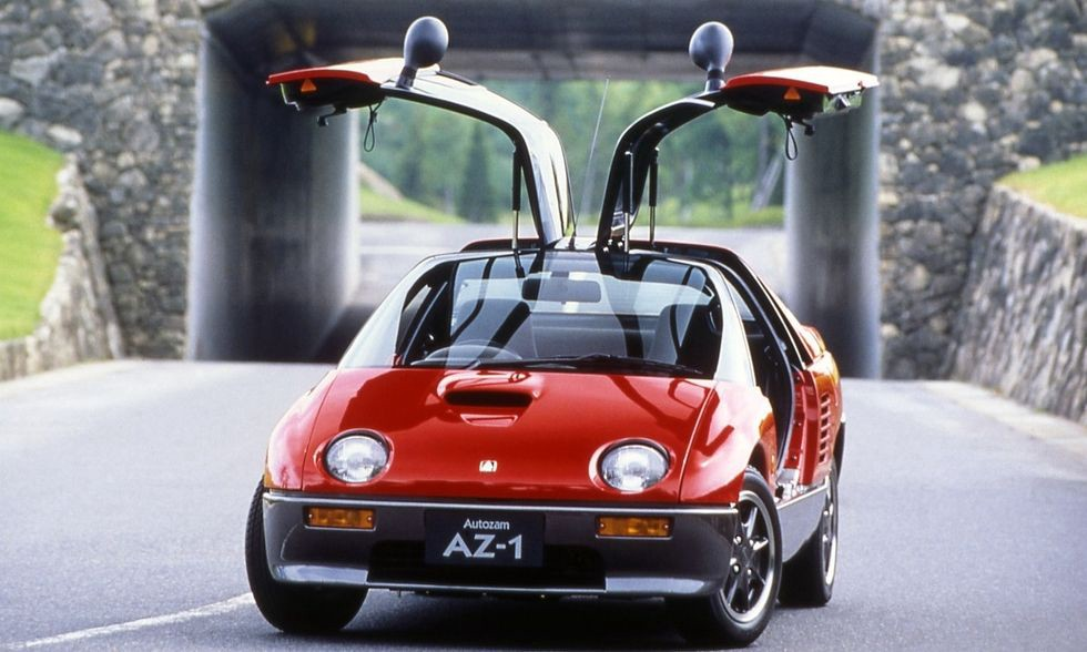 Now That The AZ 1 Is Eligible For Import Into The US, Itu0027s Becoming Highly  Desirable. The Caru0027s Mid Engine Layout And Gullwing Doors Combined With Its  Tiny ...