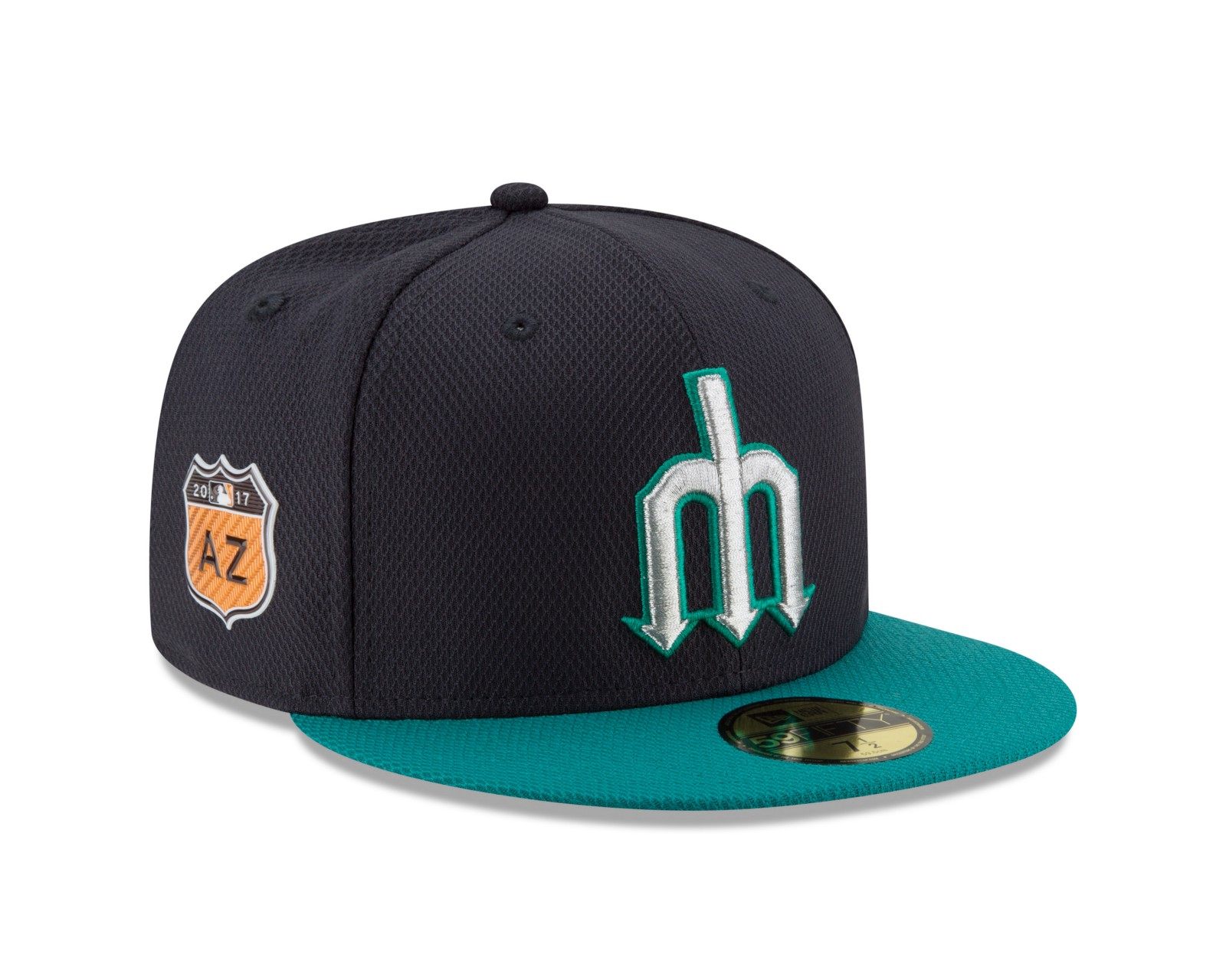c1d4f7a1020 The Mariners are one of seven MLB teams getting an updated design for their  on-field caps for Spring Training. (The others are the Yankees