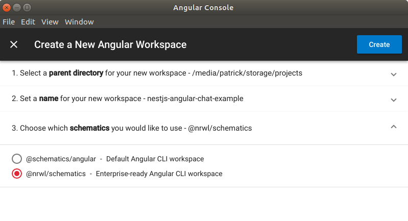 Chatting it up with NestJS and Angular 6: Setting up the