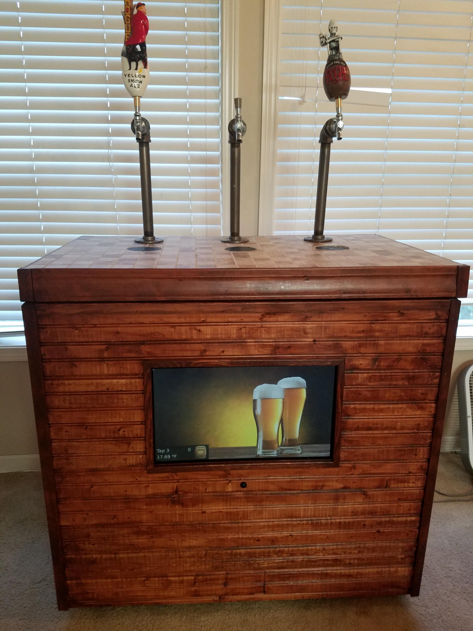 how to make a kegerator out of a chest freezer