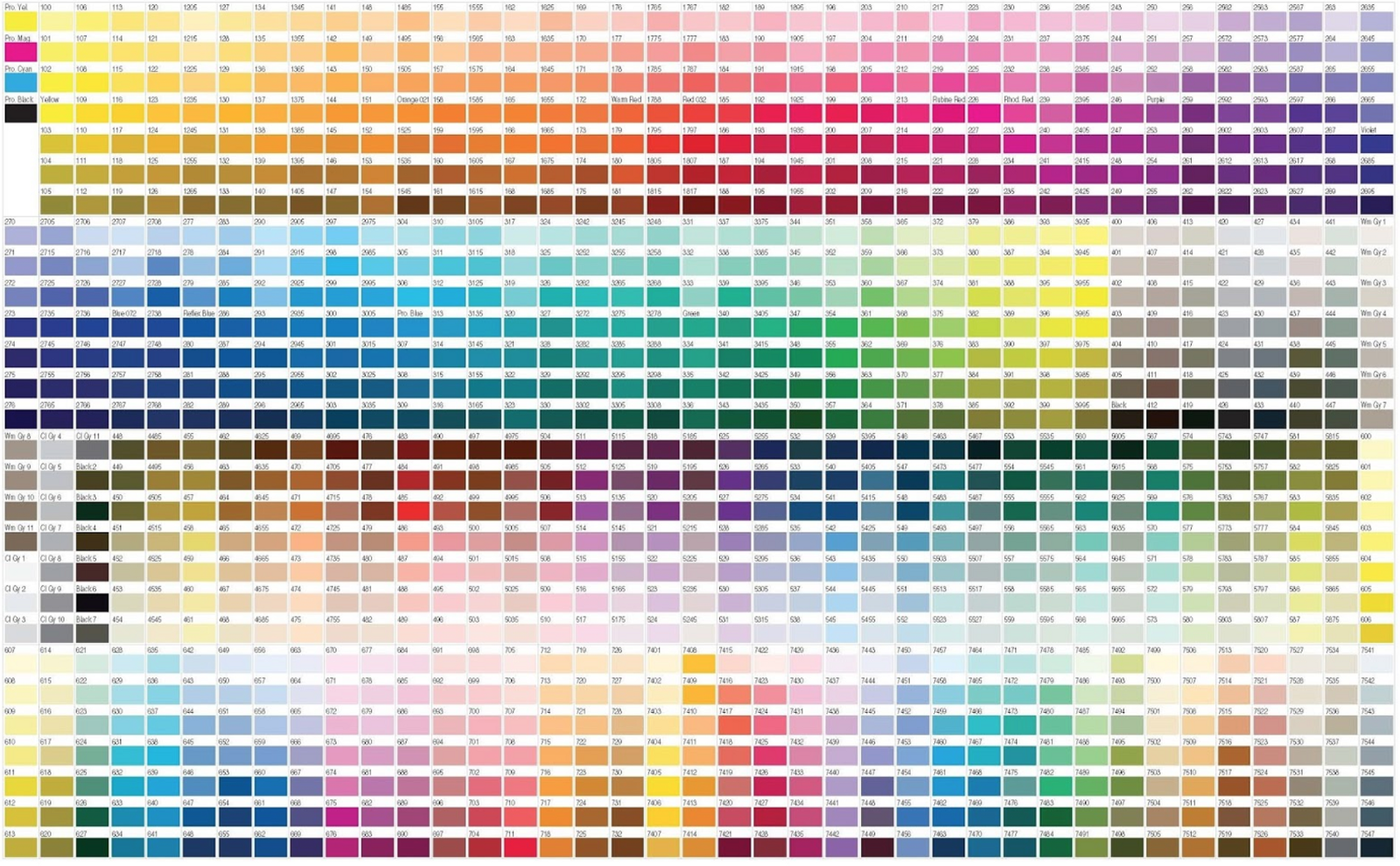 Coding colors maggie chiu yee chan medium sample pantone colour chart geenschuldenfo Gallery
