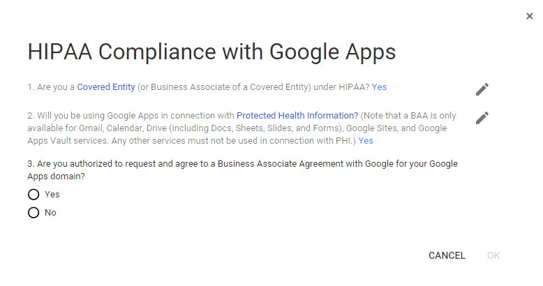 An Up To Date Guide To Making Google Apps Hipaa Compliant