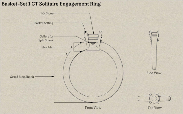 Engagement Ring Tutorials Part 5  Combining The Ring Shank