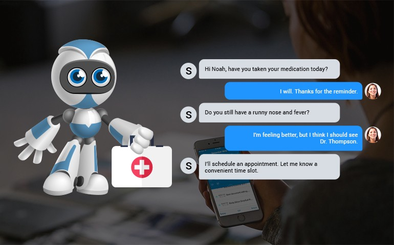 Chatbots — The Perfect Way to Deliver Personalized Patient Care