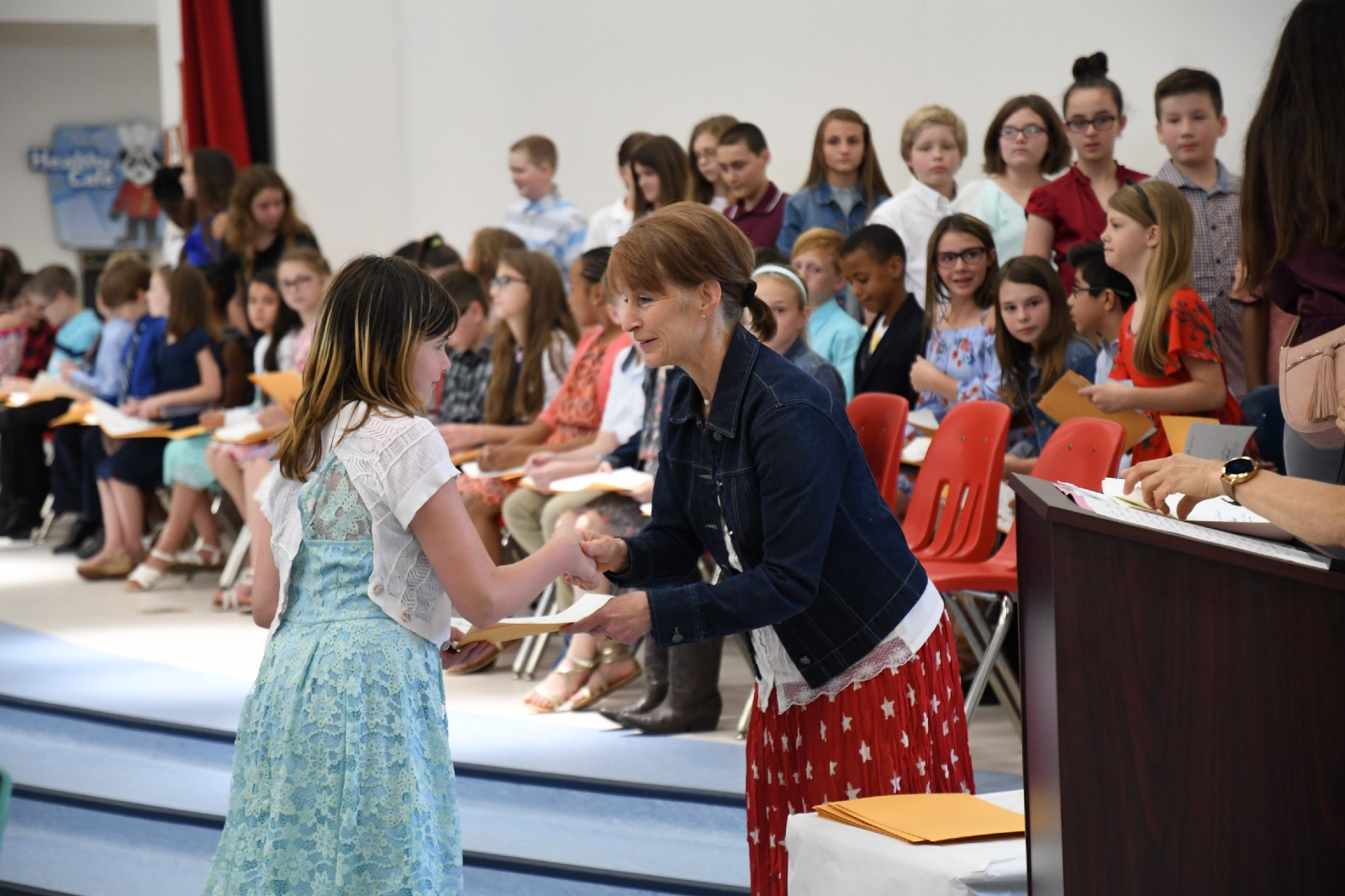 elementary students receive presidential award silsbee isd news