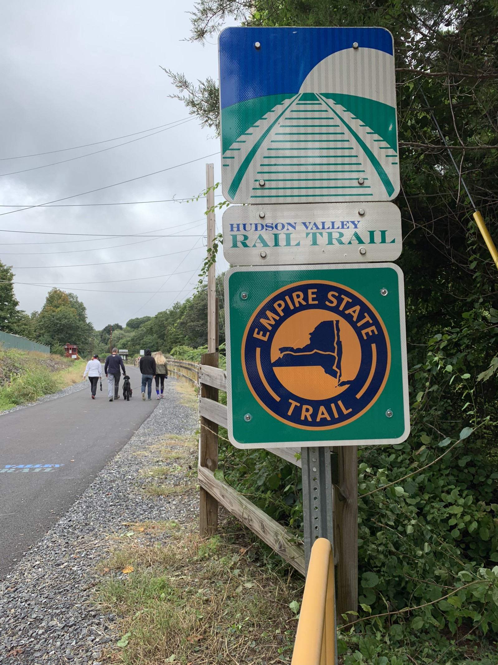 From the Rail to the Trail – The Groundhog – Medium Dutchess Rail Trail Map on