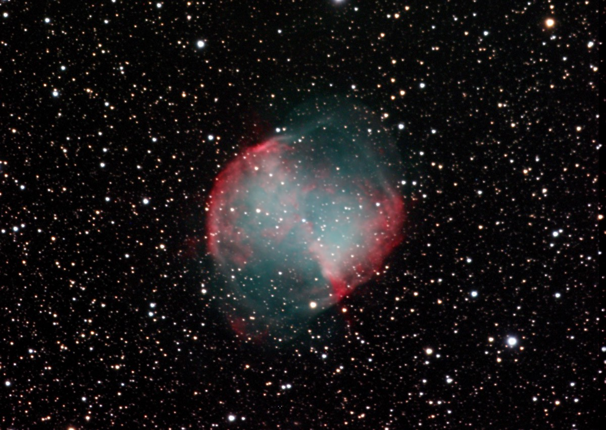 dumbbell nebula colors - photo #14