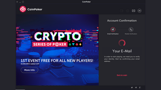 Guide to Getting Started on CoinPoker Step 5