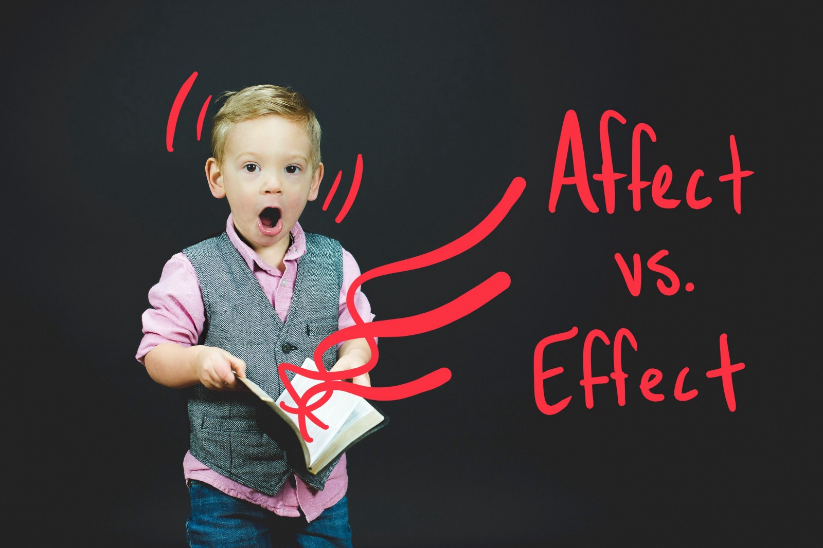 """One Word to Solve the """"Affect"""" vs. """"Effect"""" Dilemma"""