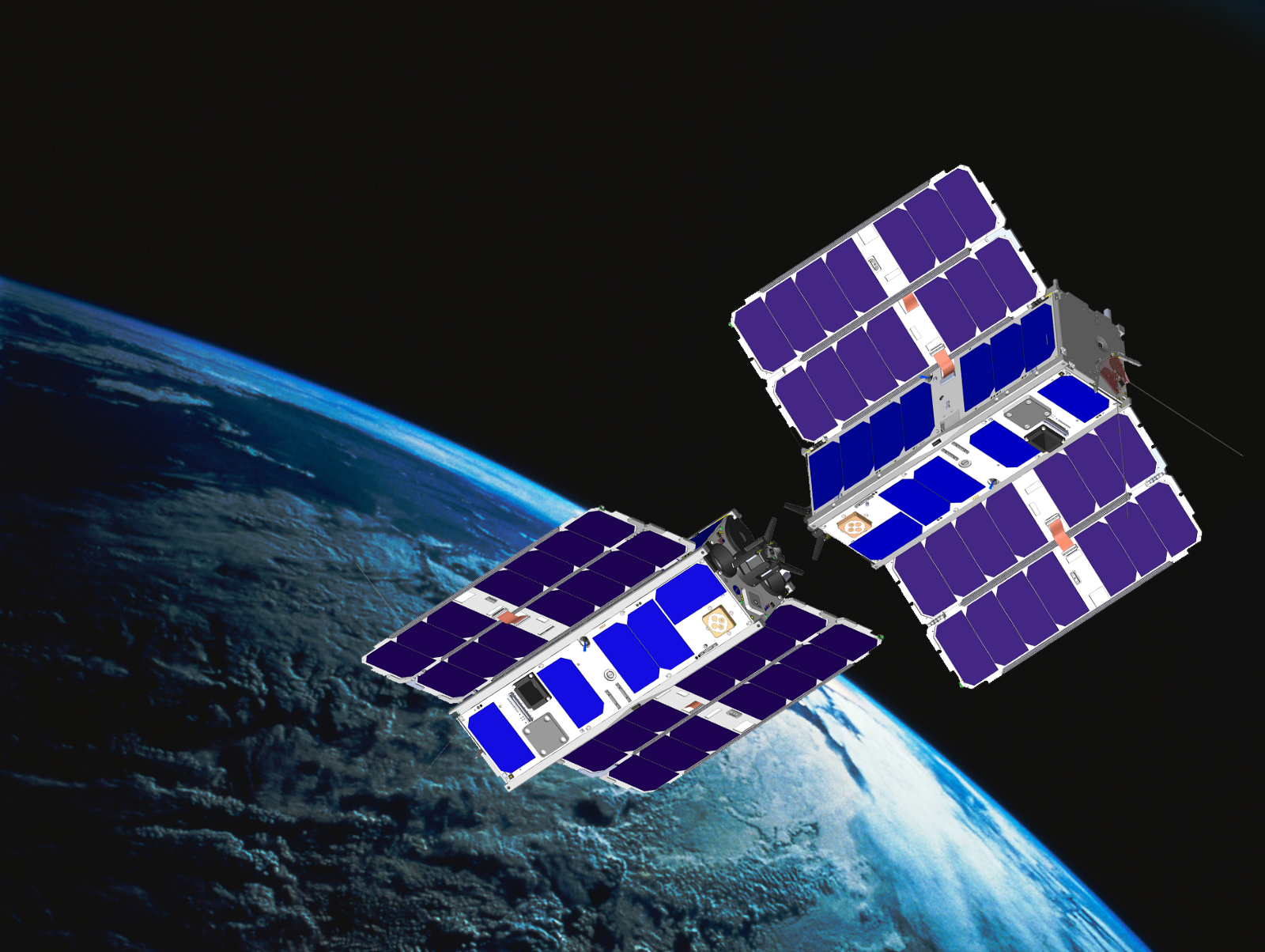 Connect A Cubesat Swarm Space Decentral Medium