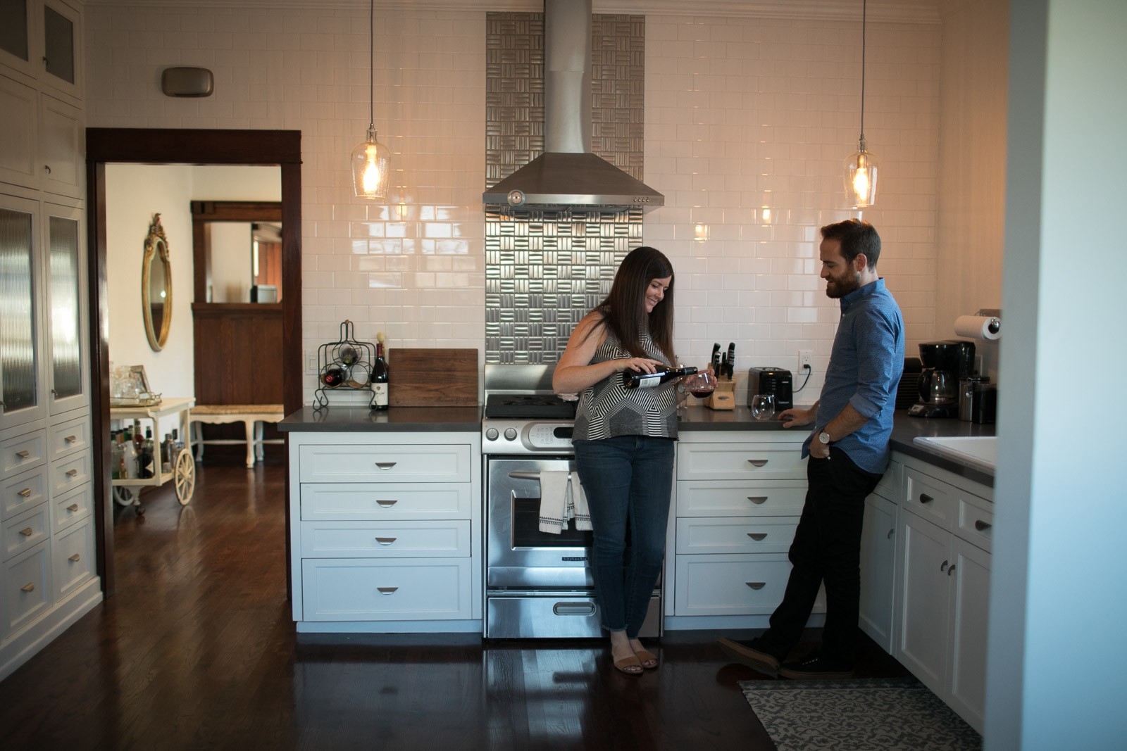 At Home in South Los Angeles – Comp Quarterly – Medium Craftsman Home Kitchen Designs For Adrian on modern colonial kitchen design, houzz kitchen design, colonial home kitchen design, craftsman home interior design, coffered ceiling kitchen design, craftsman home exterior design, craftsman home design ideas,