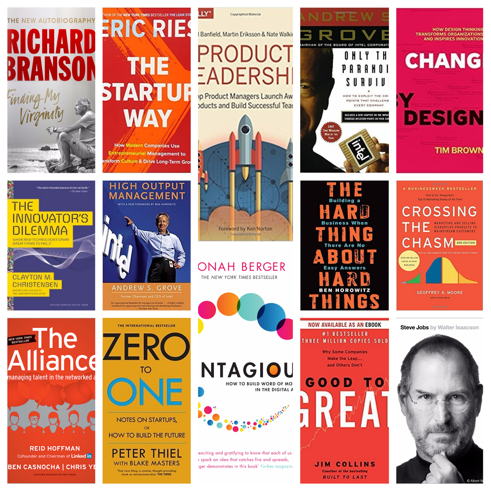 Business Book Cover Job ~ The best startup business books i have read this year