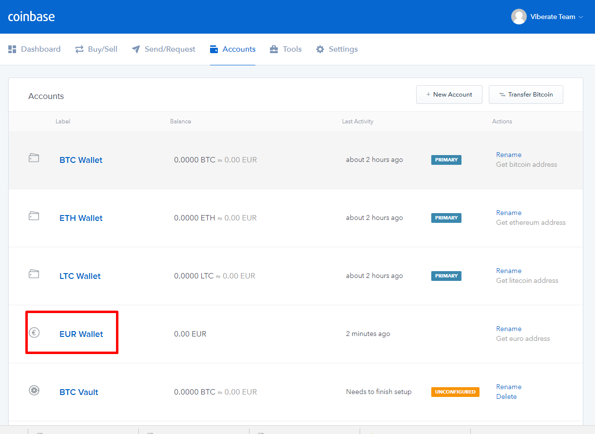 how to find your wallet number on coinbase