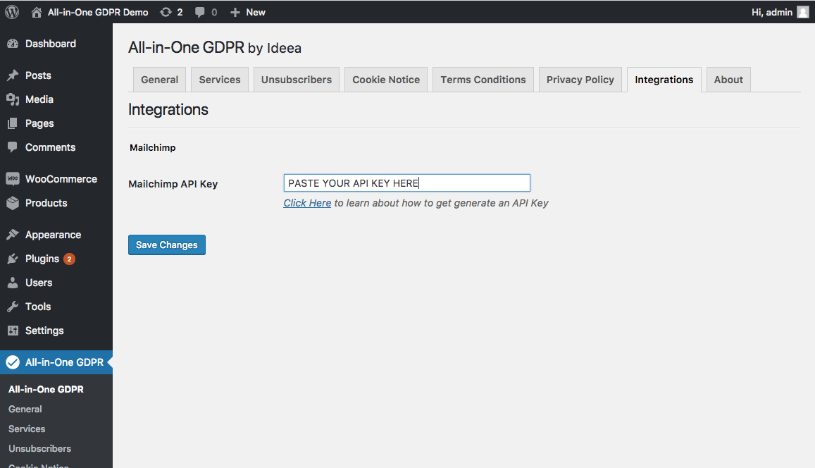 Make Your Mailchimp Lists Gdpr Compliant With All In One Gdpr