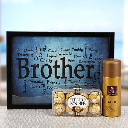 Meant To Celebrate This Is One Of The Most Exciting Birthday Gifts For Men Especially Elder Brother Combo Includes A Pack Delicious Ferrero