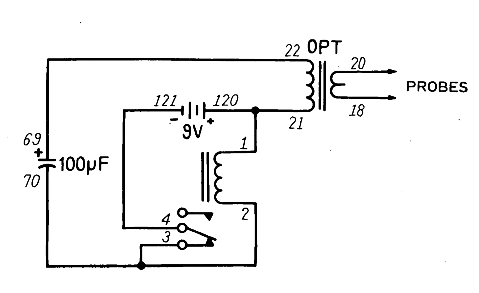 This opens the relay, breaking the circuit, therefore cutting power to the  coil ...