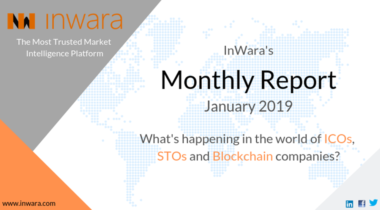 Monthly report: January 2019 ICOs and STOs