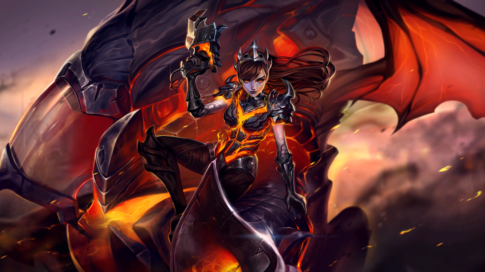 heroes of the storm d va the destroyer skin now available