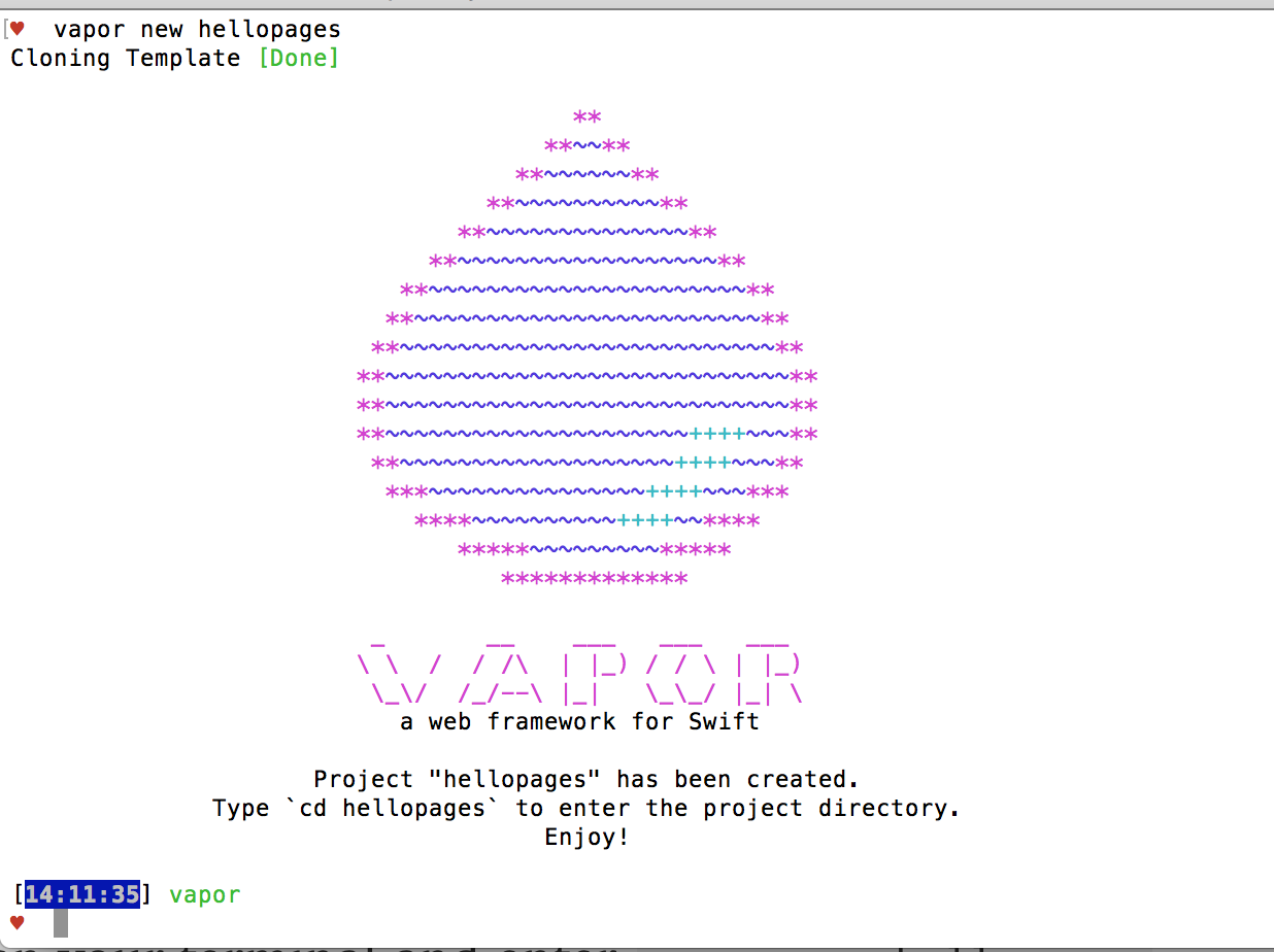 Creating Web Pages With Vapor 2 And Swift Johann Kerr Medium