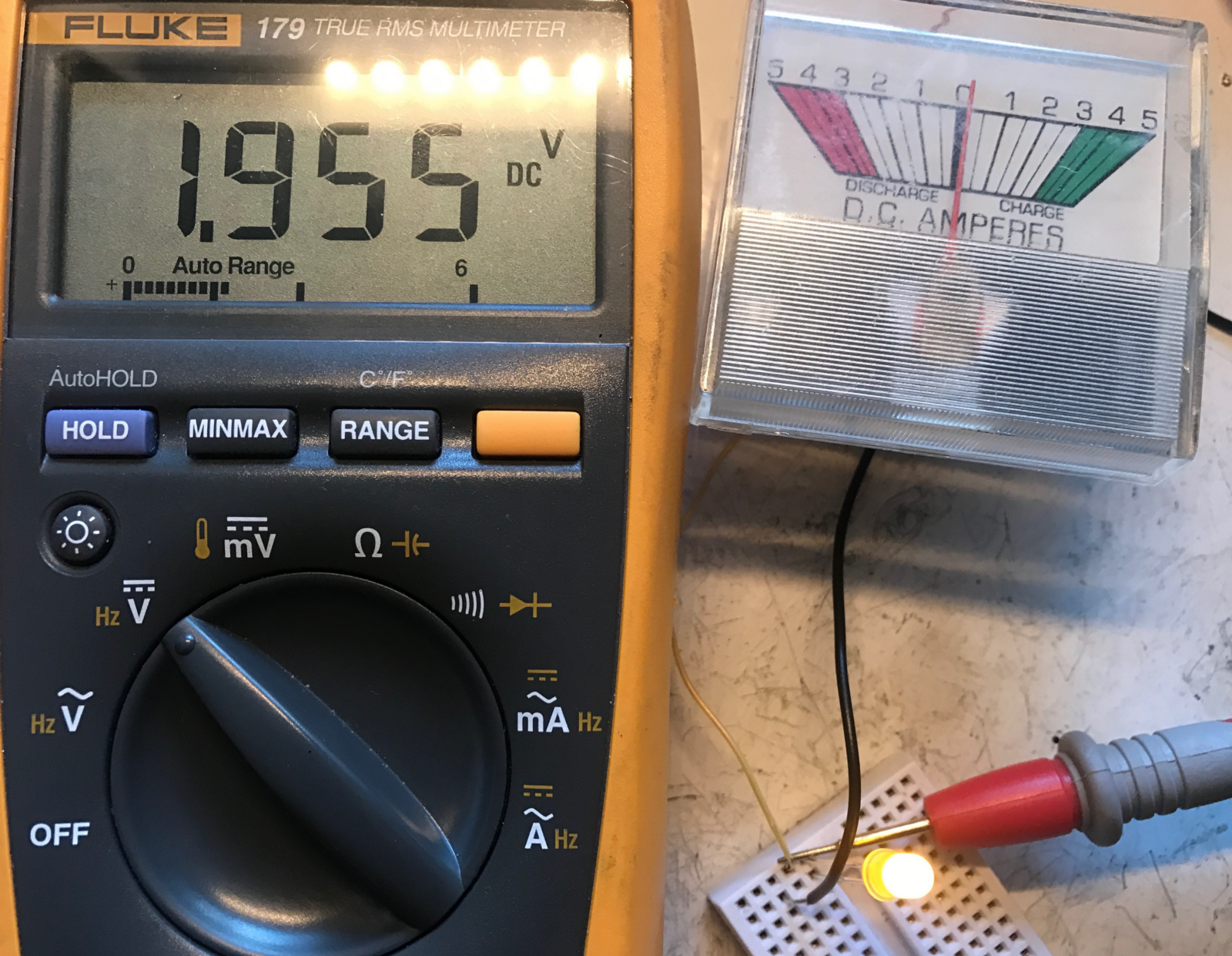Voltage Regulators Revisted Lm317m 7812 Mcp170x Mic5219 And Icl7660 Circuit Electronics Led Voltmeter For Car Battery By Lm324 It Is What I Had Todo Current Mirror To Measure Ma As A Testing With On The Output Measured 1955 V Drop Across Independent Of Vin