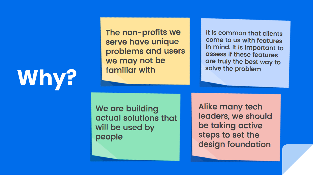 Why Do We Need Design Thinking In Blueprint