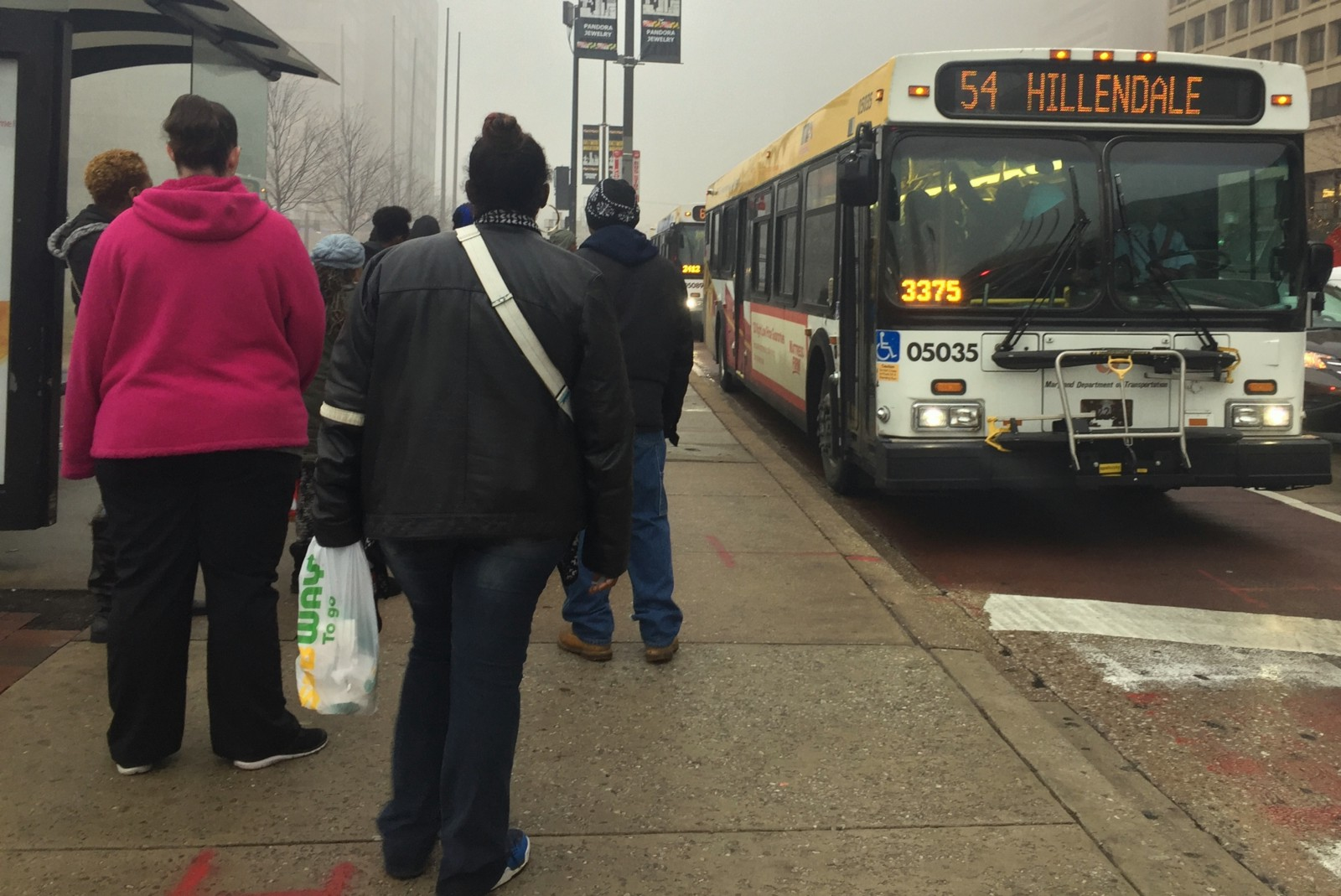 The Mta Cut 2 000 Bus Runs In Baltimore In The Last Six Months