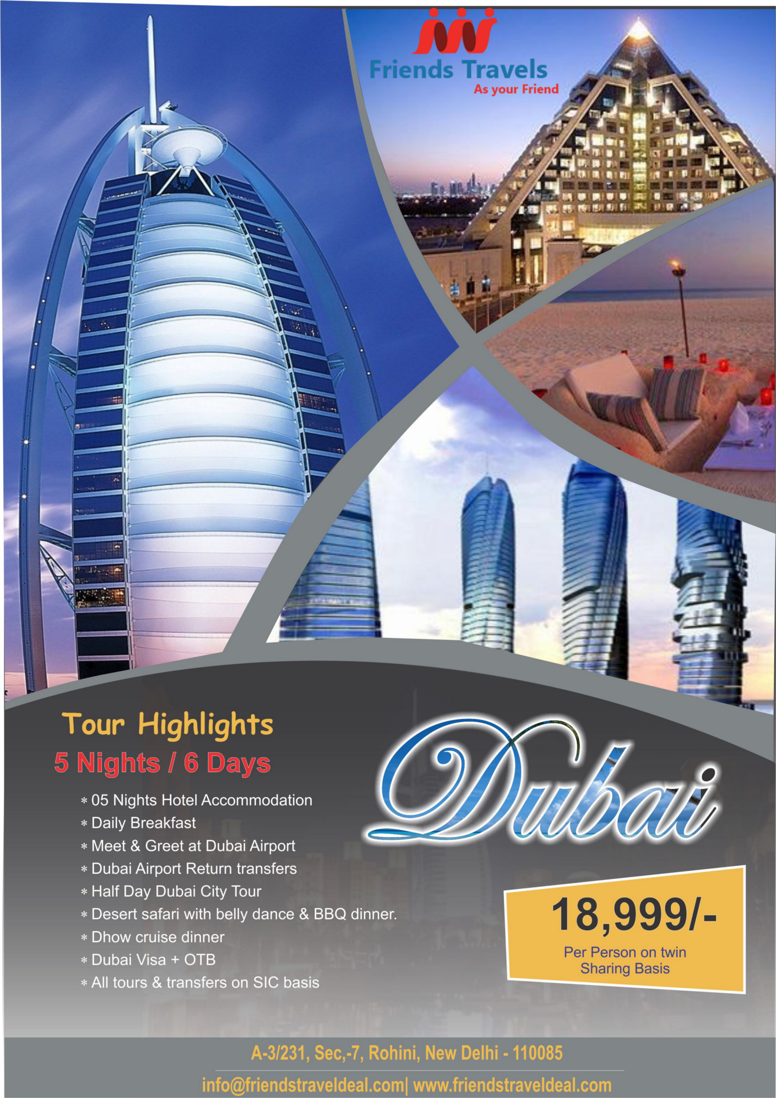 Book Dubai Tour Packages From Delhi – Tour Packages From