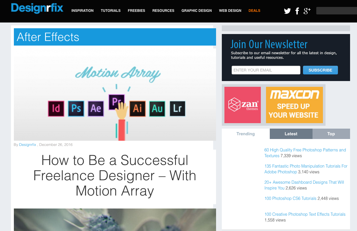 Web design tutorials gallery any tutorial examples web banner ad design tutorial photoshop baditri Image collections