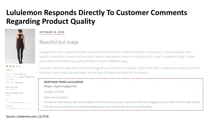 f28941b1d81dd0 These practices keep people like me coming back, even after a product recall,  because I know Lululemon cares about my satisfaction.