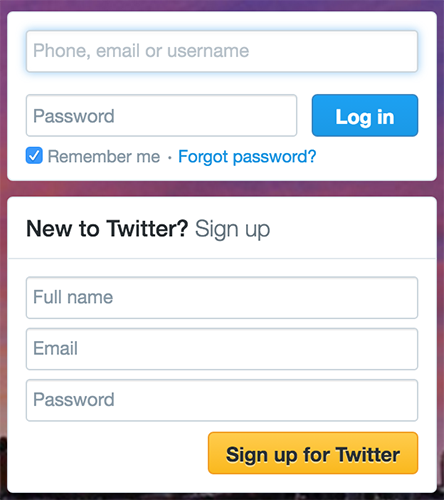 Designing Ux Login Form And Process Ux Planet