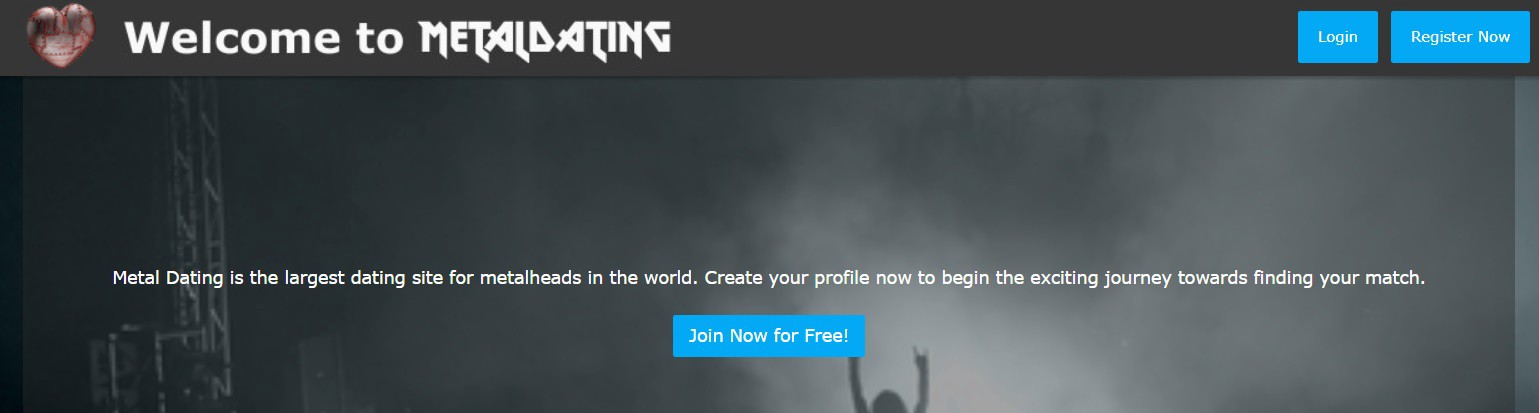 Dating-Website Metalheads