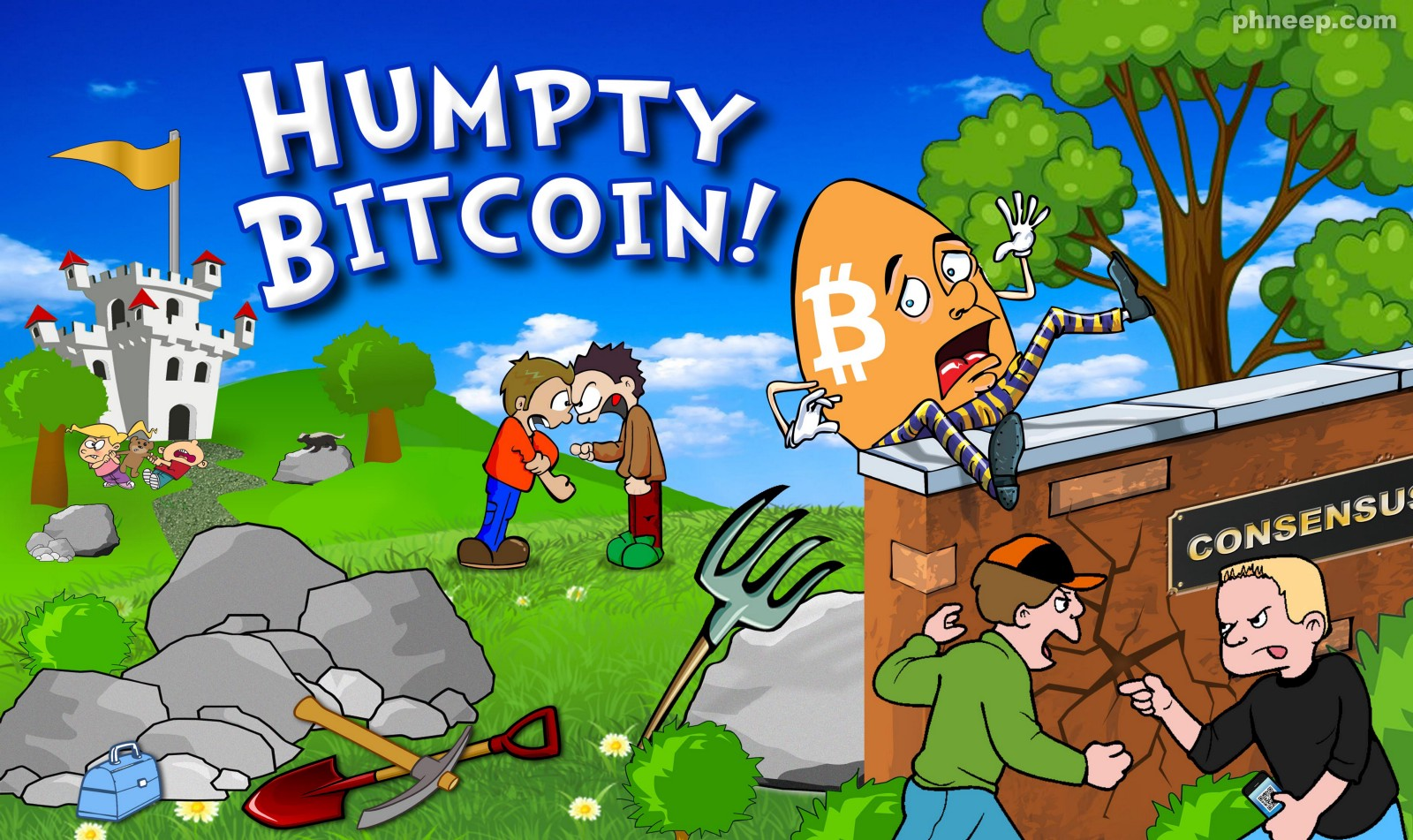 Why a Bitcoin Divorce will be REALLY Painful