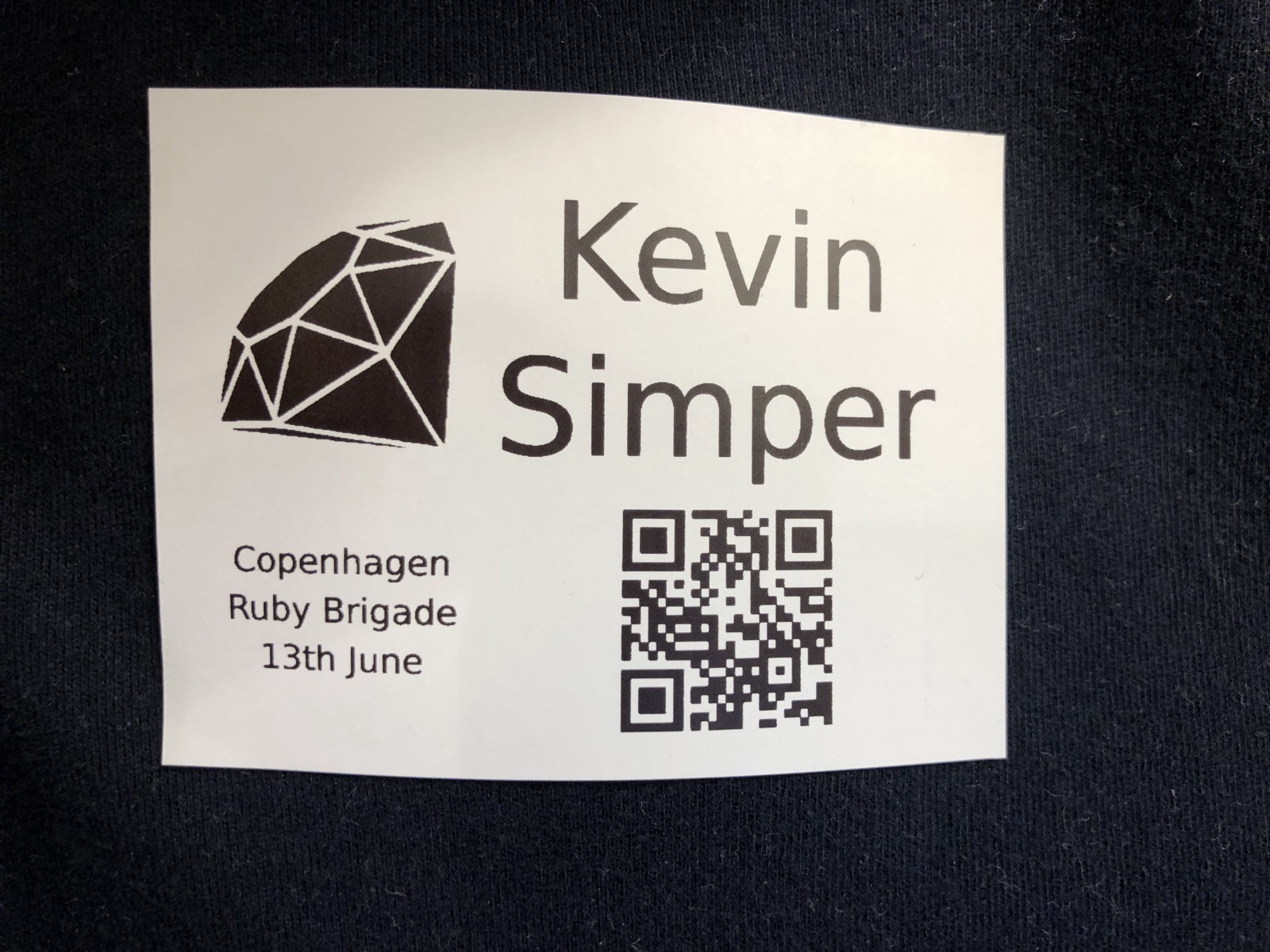 How to print name tags for your meetup kevin simper medium i have been thinking about creating name tags for copenhagenjs and docker copenhagen for a long time both because it makes it easier to see who is there solutioingenieria Choice Image