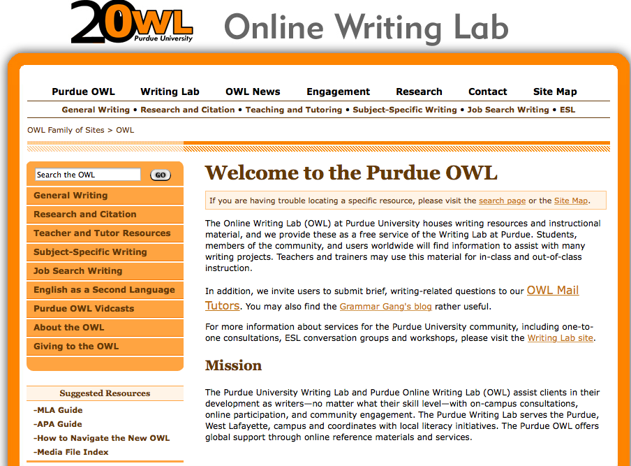 image 1 purdue owl home page