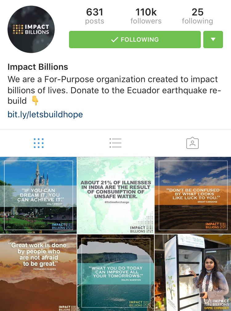 An interview with joe duncan 500k followers on instagram if you want to checkout his impact billions group you can go to impactbillions or follow them on instagram at impactbillions to get ahold of joe malvernweather Gallery