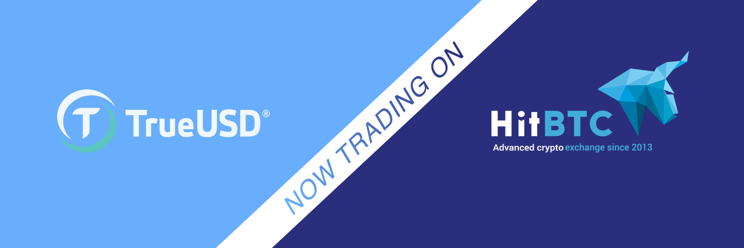 HitBTC Has Opened Markets With TrueUSD As A Quote Currency