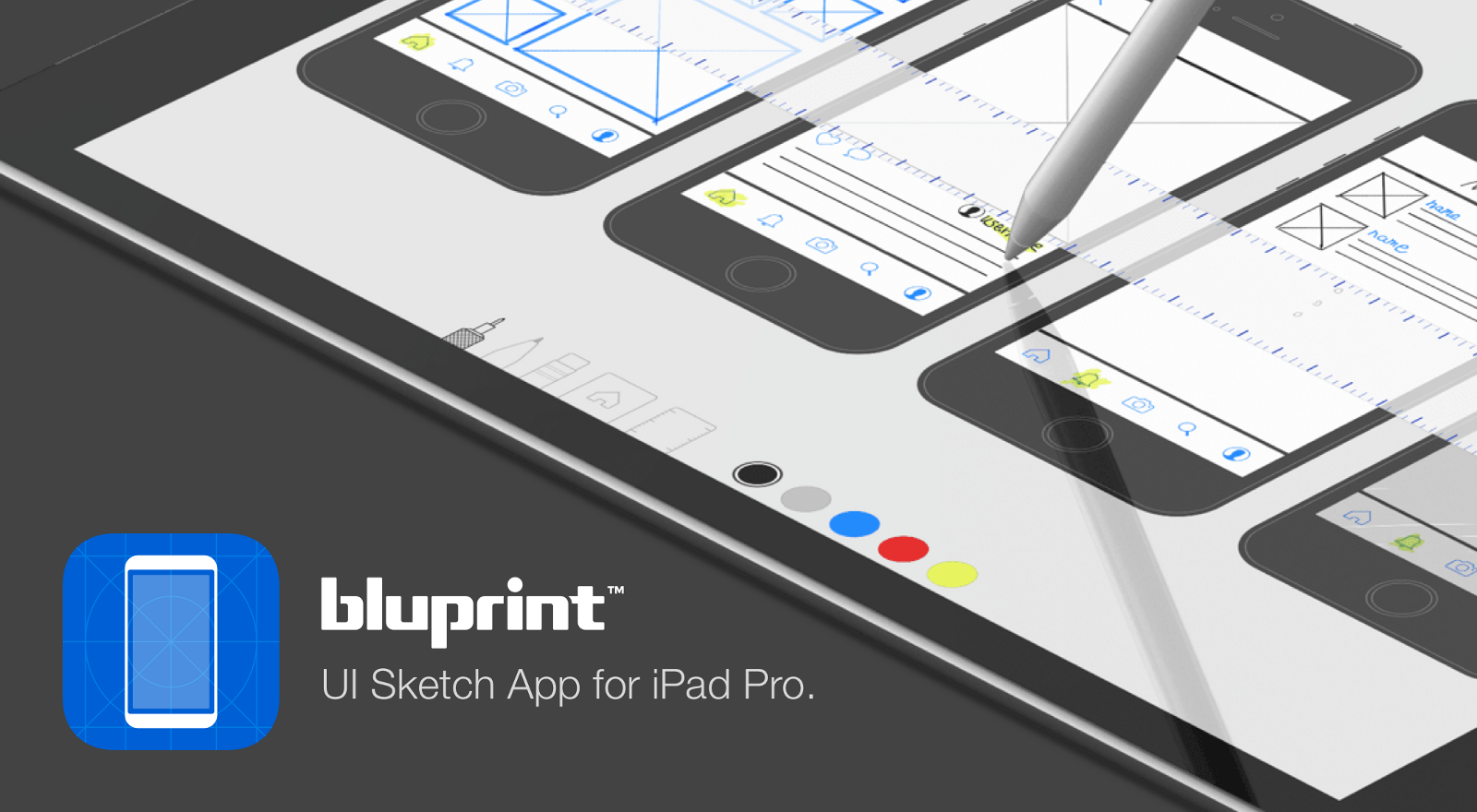 Meet bluprint a ui sketch app for ipad pro lsd lab