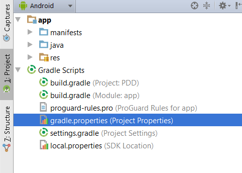 waiting for build to finish android studio