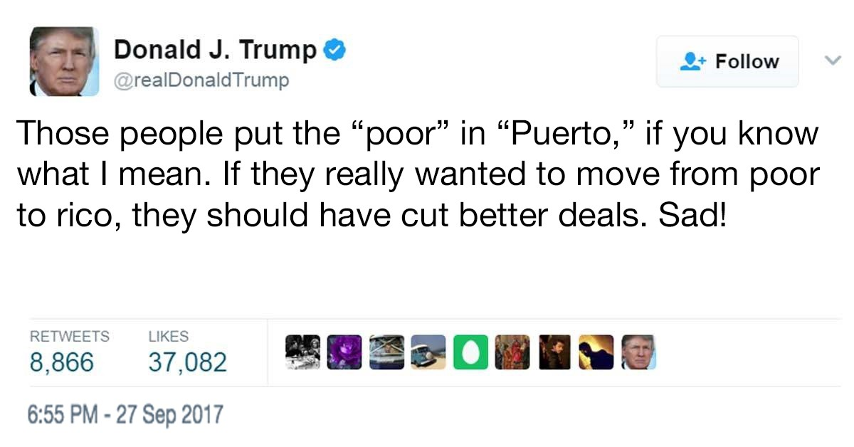 Image result for trumps racist tweets