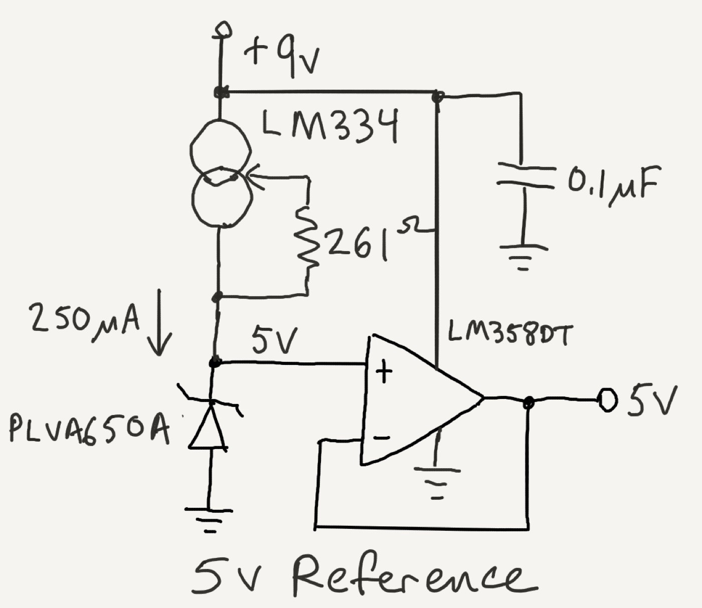 Hello Diodes Tempo Automation Medium Volt Regulator Using Dioda Zener Simple Schematic Diagram A Diode Takes Advantage Of The Limited Breakdown Voltage 5v Is Non Standard So You Should Probably Use Different