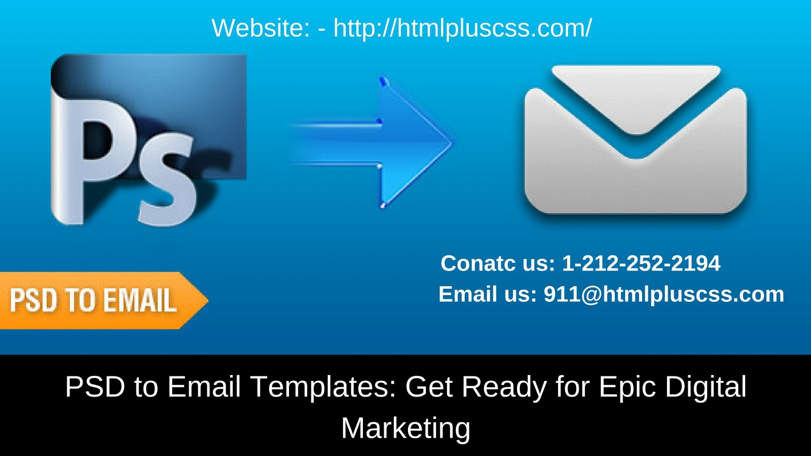 PSD To Email Templates Get Ready For Epic Digital Marketing - Social media marketing email templates