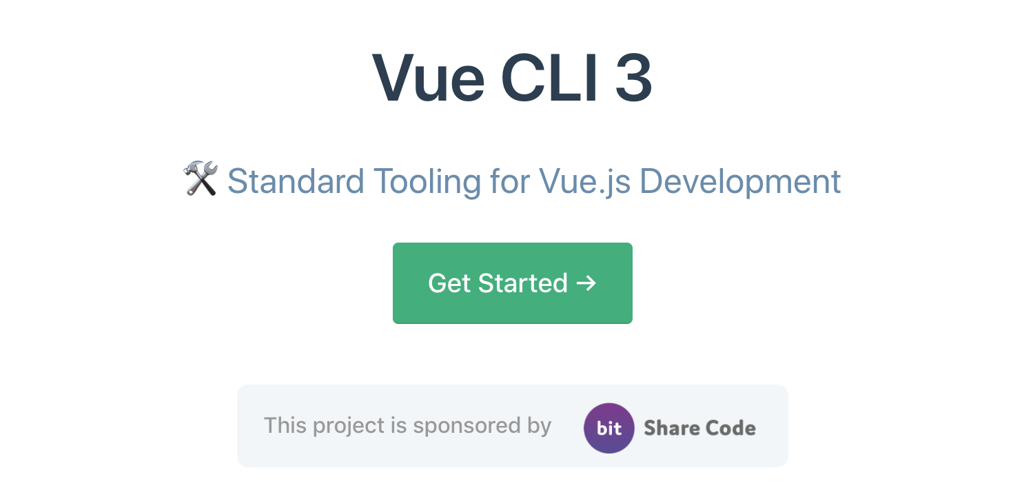 So What's New in Vue CLI 3.0?