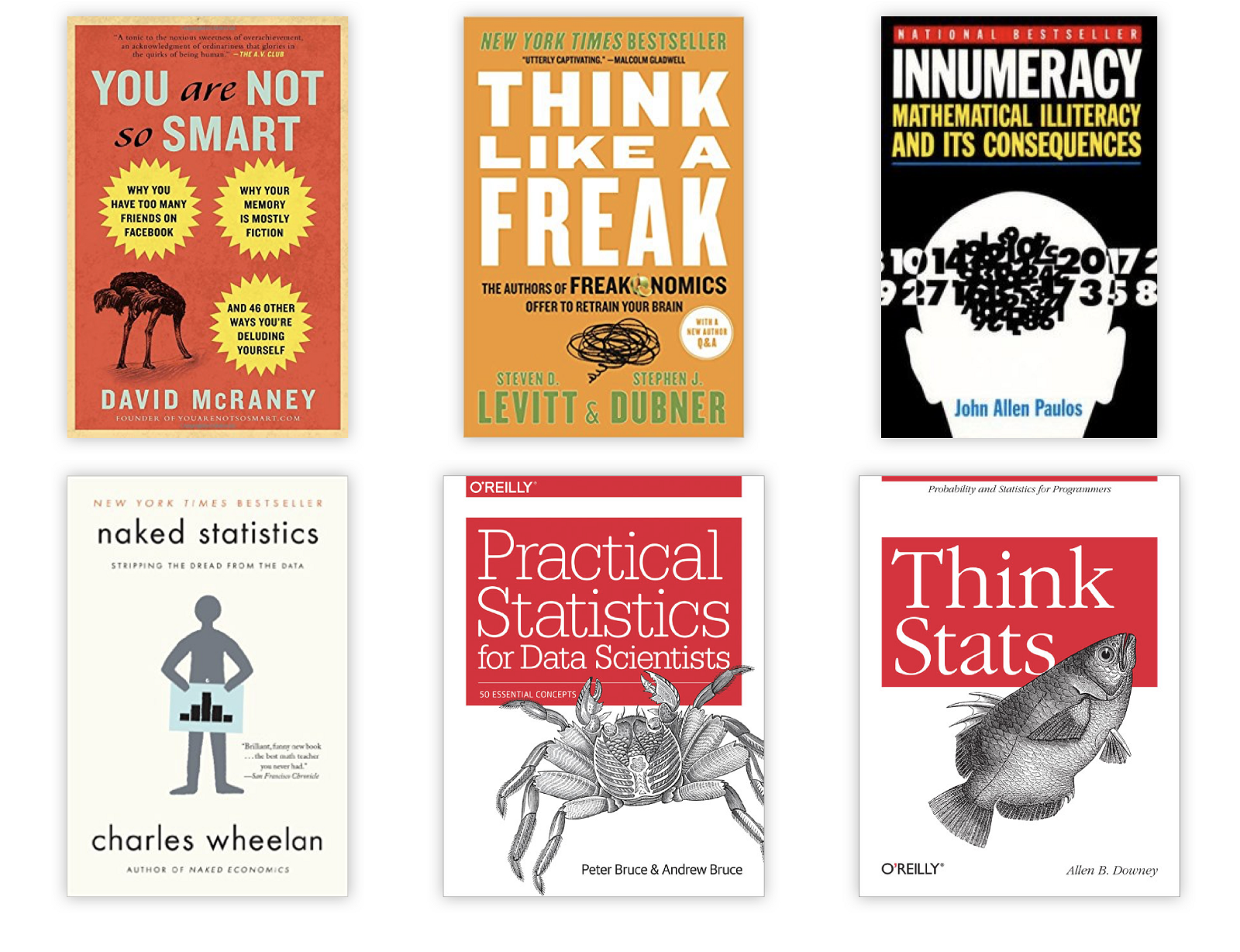 Aspiring Data Scientists Start To Learn Statistics With These 6 Books