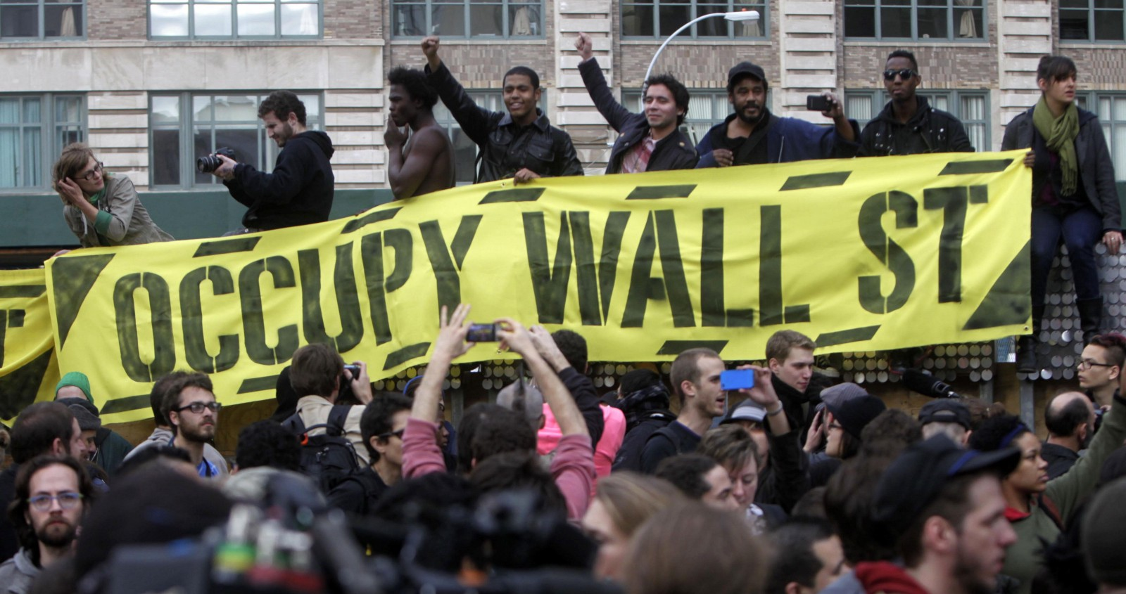 "occupy wall street movement Relying on familiar tropes of ""white genocide"" and ""demographic displacement,"" white nationalist blogger jason kessler  occupy movement around 2011 and ."